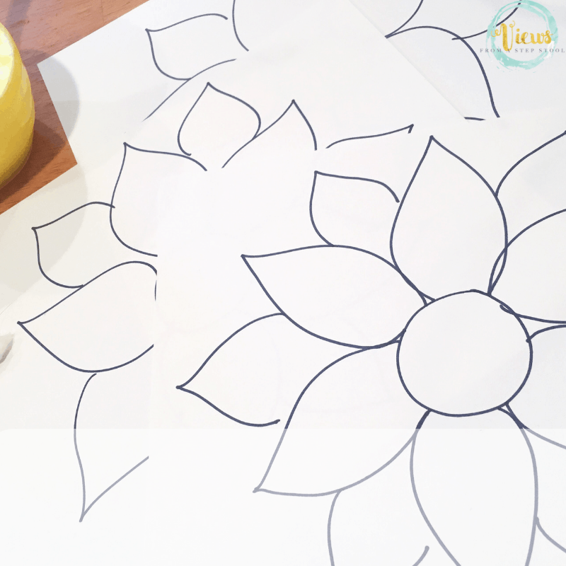 sunflower toddler craft
