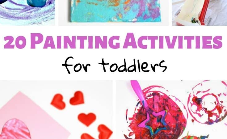 20 Painting Activities for Toddlers