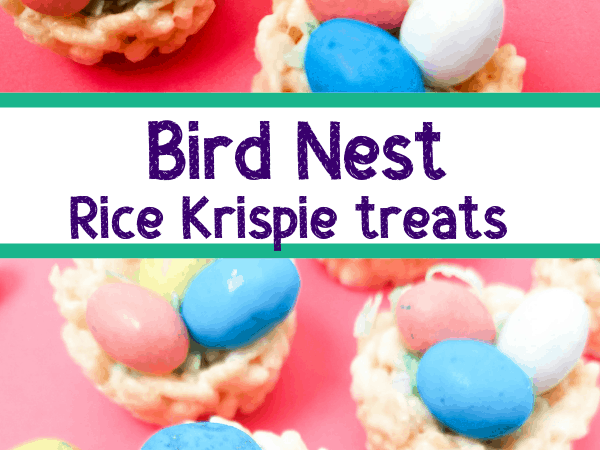 Easter Rice Krispie Treats: Bird Nest Snacks for Kids