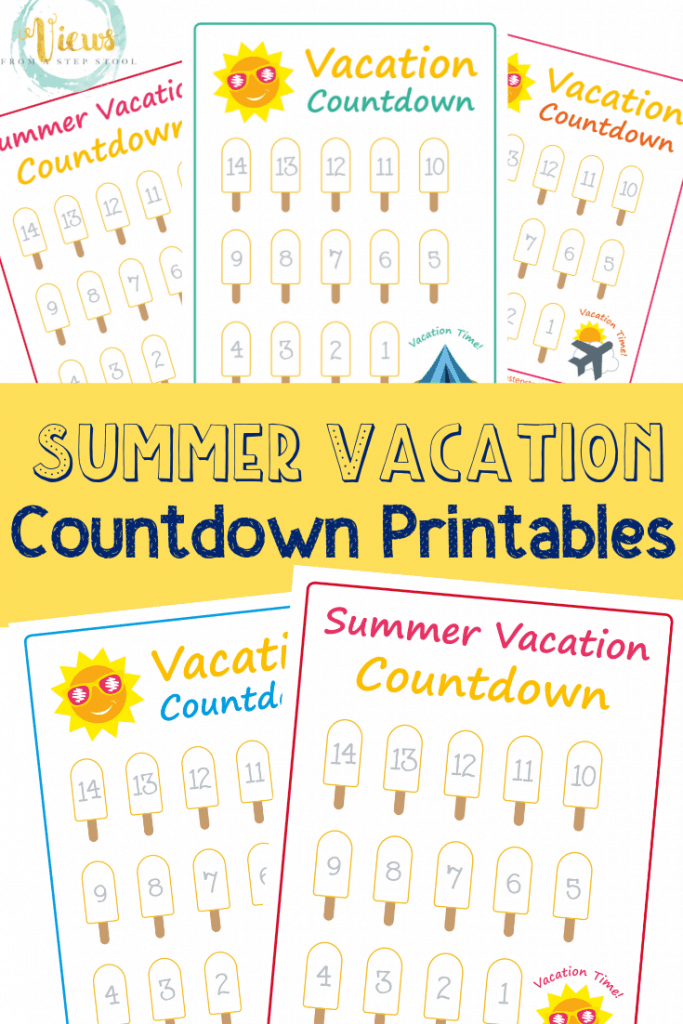 summer vacation countdown