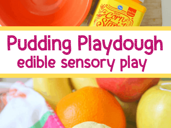 Pudding Playdough: Edible Sensory Play for Kids