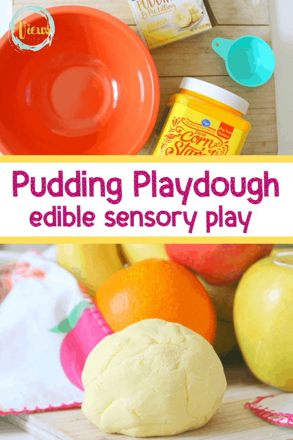 This pudding playdough recipe is the perfect way to play and taste, all in one! With very few ingredients, you can create hours of fun!