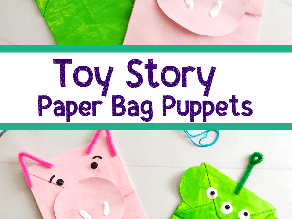 Toy Story Craft: Paper Bag Puppets