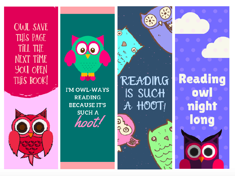Cute Printable Owl Bookmarks For Kids - Views From A Step Stool