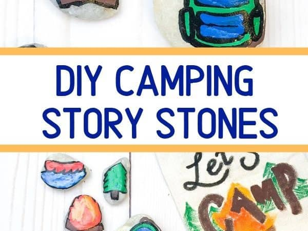 Camping Story Stones for Kids