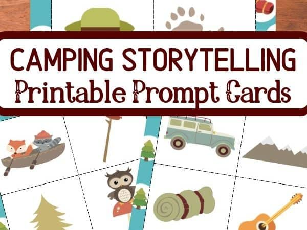 Printable Camping Story Cards for Kids