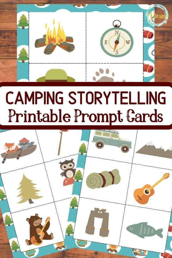Printable Camping Story Cards for Kids - Views From a Step Stool