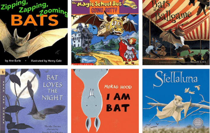 20+ Bat Books for Kids to Read in the Fall