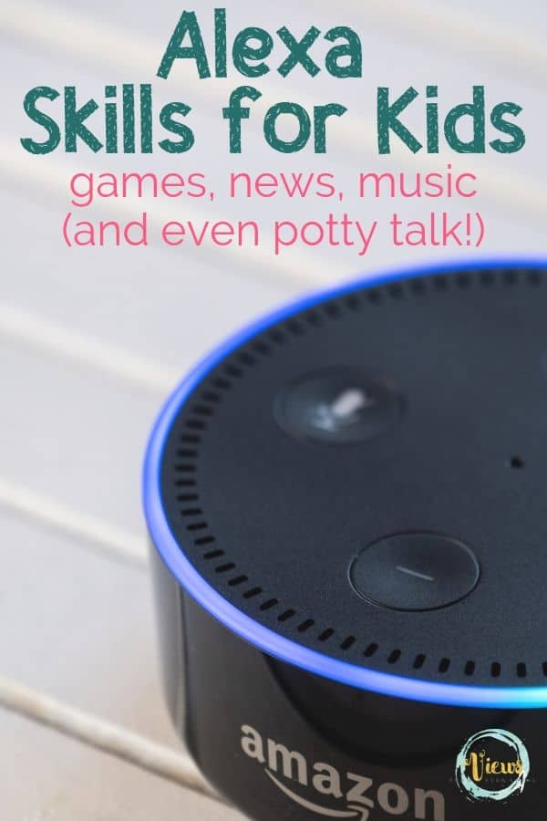 Amazon Alexa Skills for Kids + Free Printable Cheat Sheet