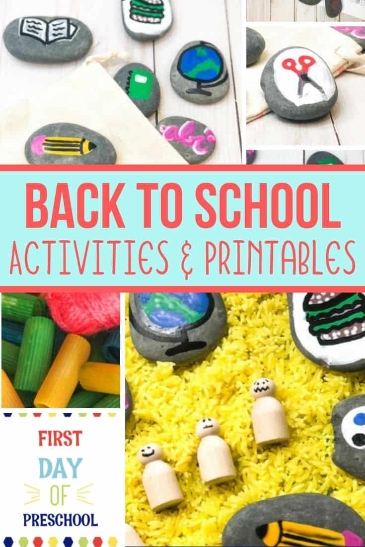 Amazing Back To School Activities And Printable For Kids Views Gmtry Best Dining Table And Chair Ideas Images Gmtryco