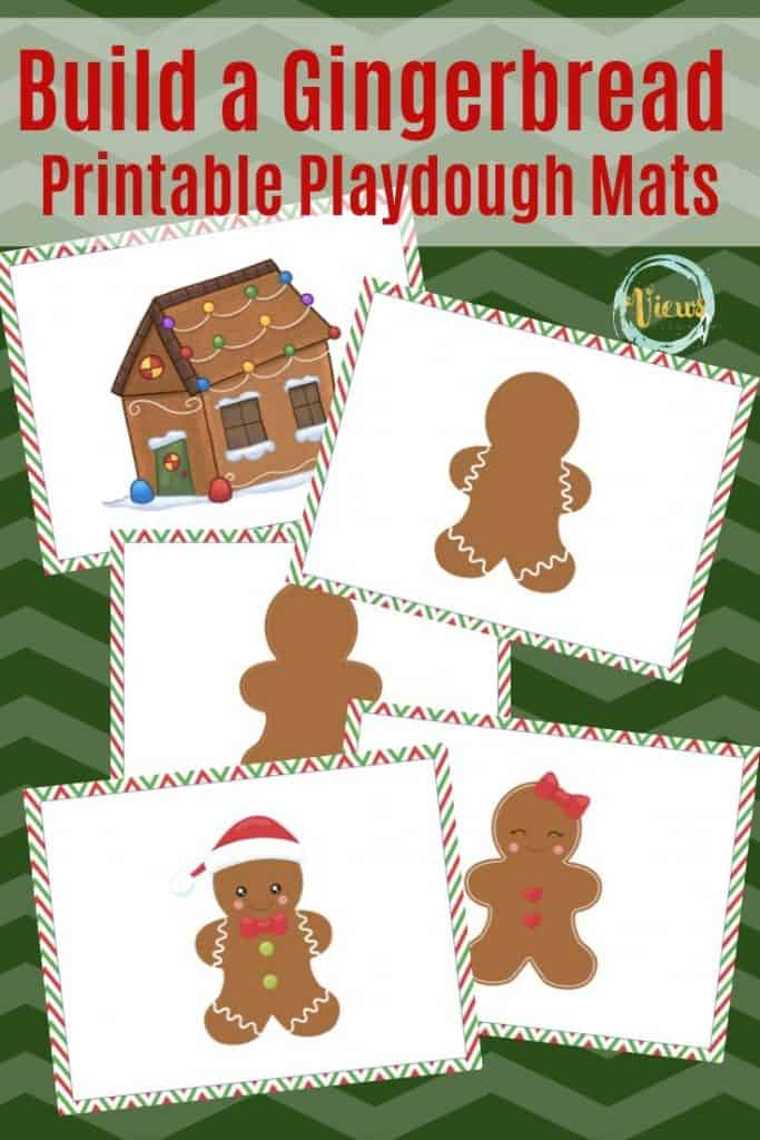 gingerbread playdough mat images