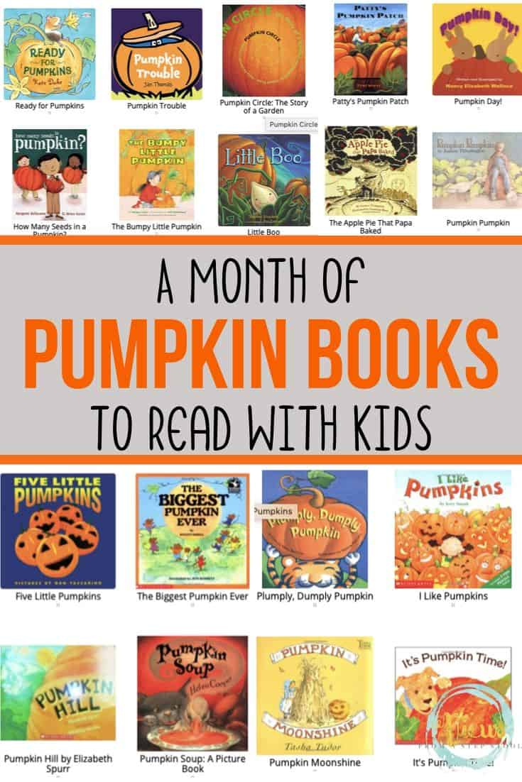 A Month of Pumpkin Books for Kids to Read this Fall