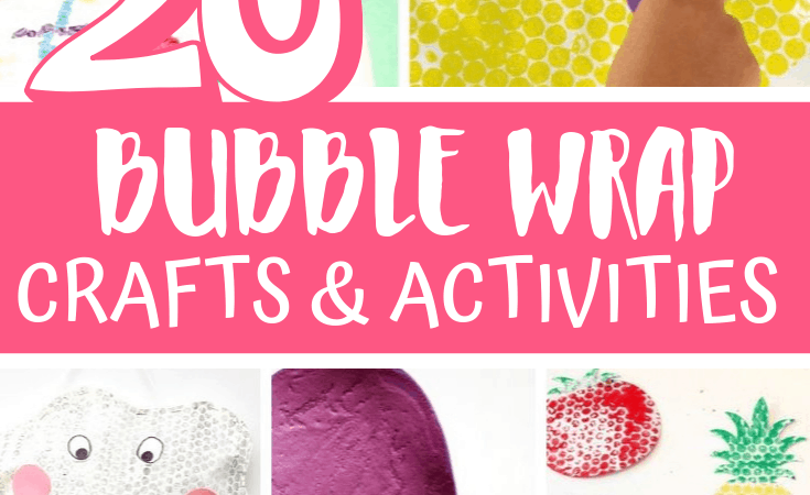 20 Bubble Wrap Crafts and Activities for Kids