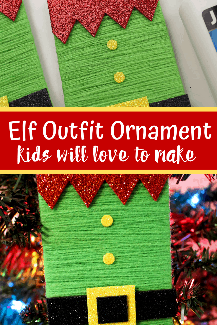 Incredible Popsicle Stick Wrapped Elf Ornament Craft For Kids Views Caraccident5 Cool Chair Designs And Ideas Caraccident5Info