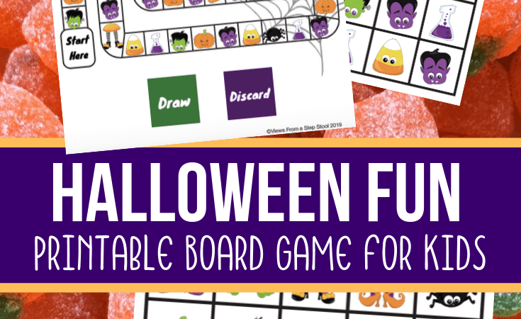 Free Printable Halloween Board Game