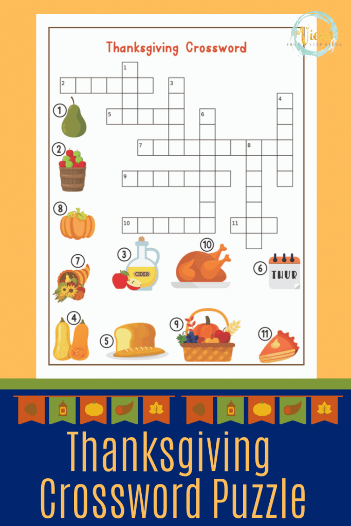 This Thanksgiving printable games pack includes a maze, I ...