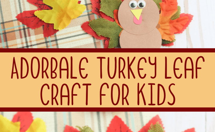 Turkey Leaf Craft for Kids