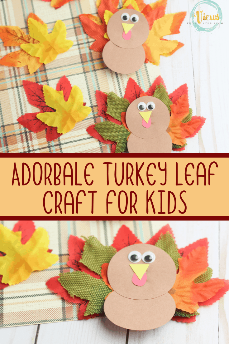 Turkey Leaf Craft for Kids