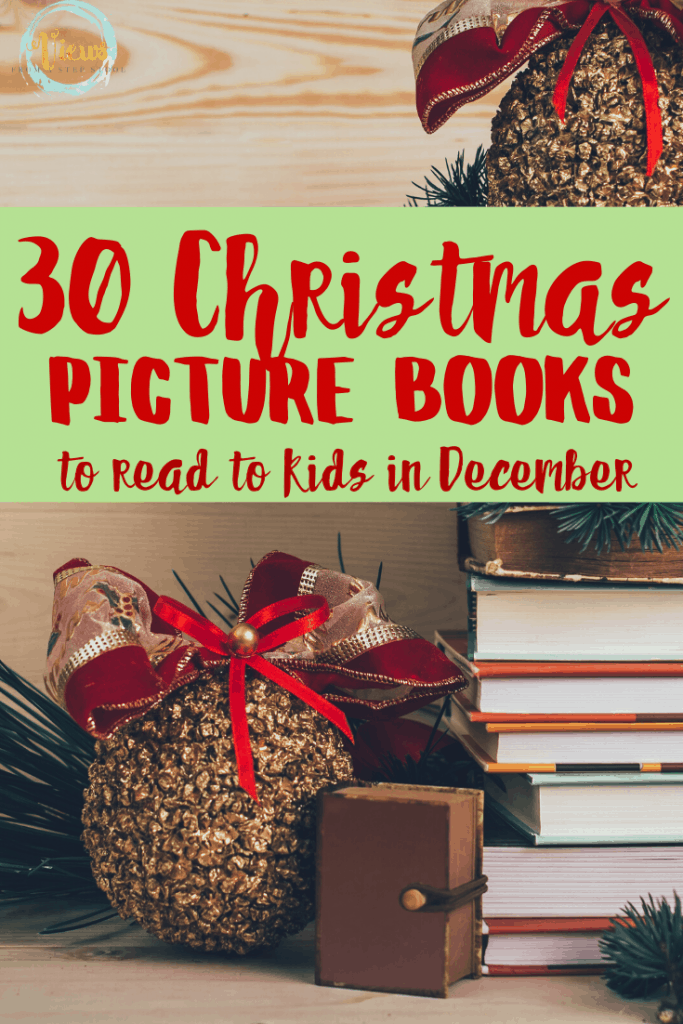 Here are 30 Christmas Books that you can read with your child this holiday season! You might now even know some of them yourself!
