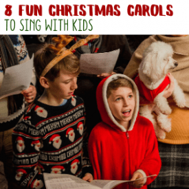 Best Christmas Carols for Kids to Learn