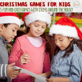 Fun Christmas Games for Kids