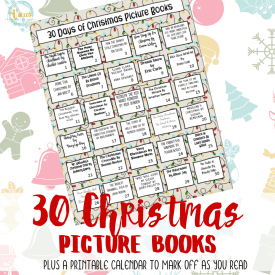 A Month of Christmas Books for Kids