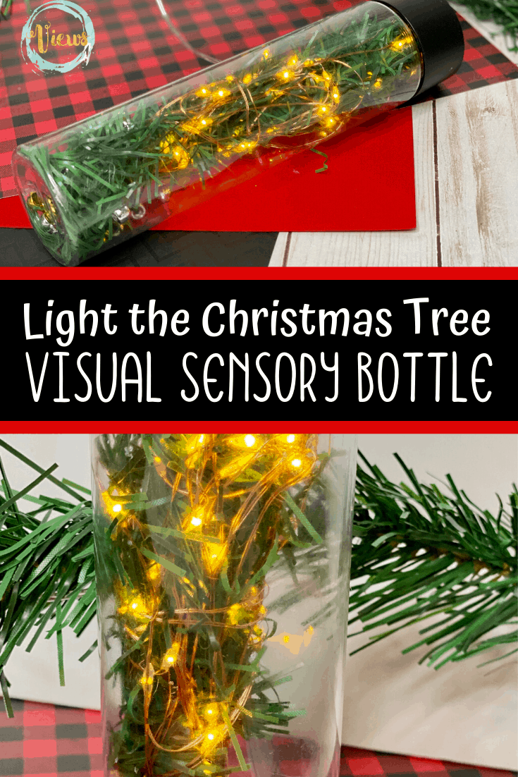 Light the Christmas Tree Sensory Bottle