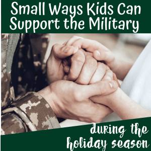 Giving Back to the Military During the Holidays