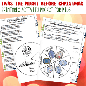 Twas the Night Before Christmas Printable Pack