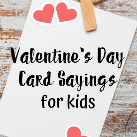 Valentines Day Card Sayings for Kids