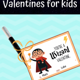 Harry Potter Valentine's Day Cards for Kids