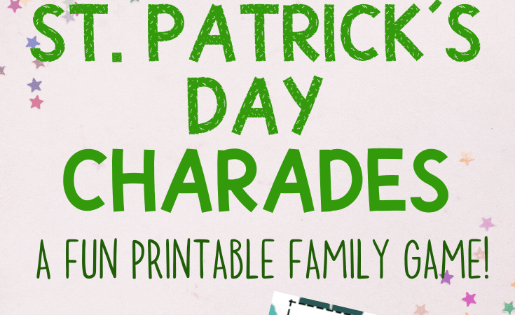 St. Patrick's Day Charades Printable Game