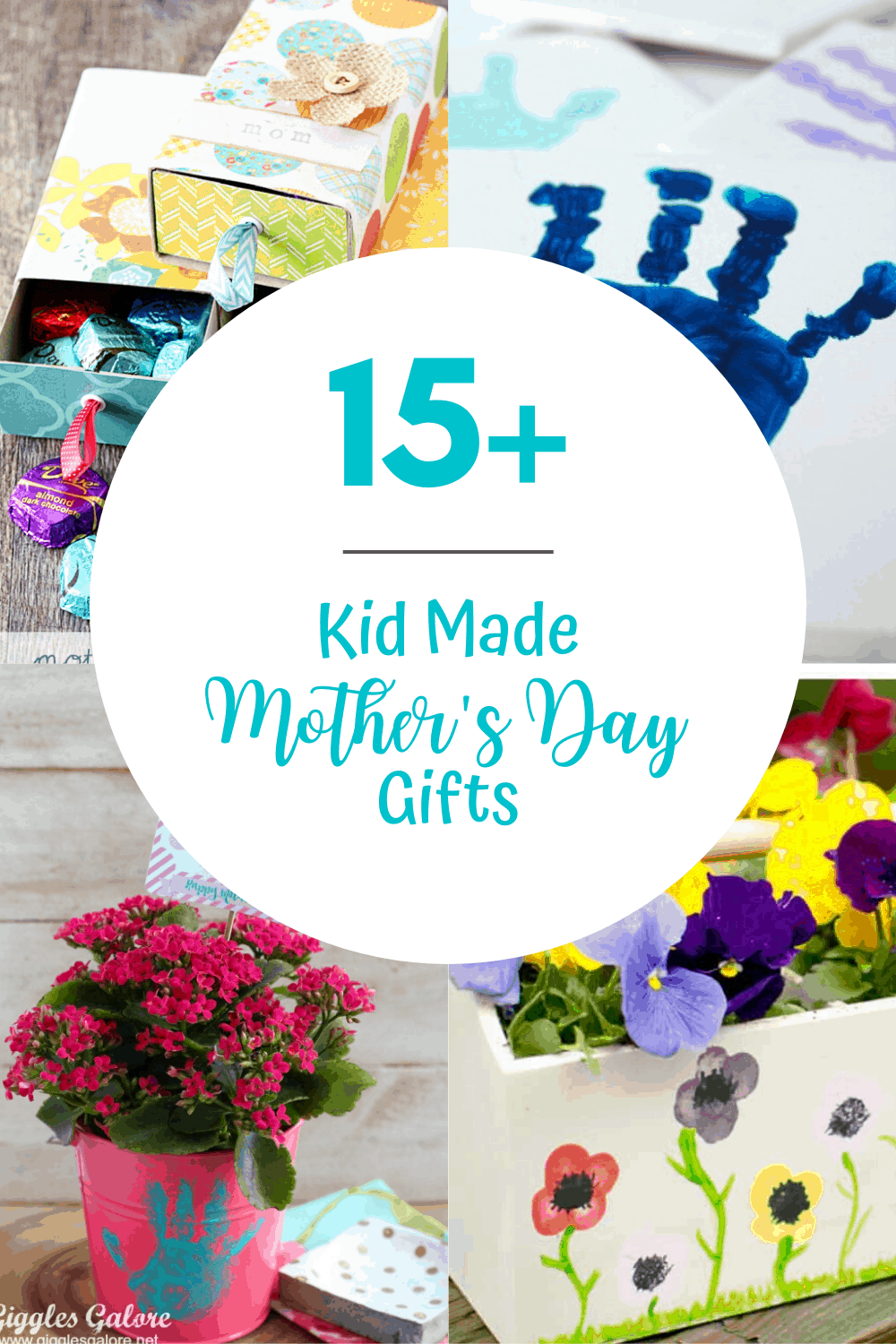 15+ Homemade Mothers Day Gifts from Toddlers
