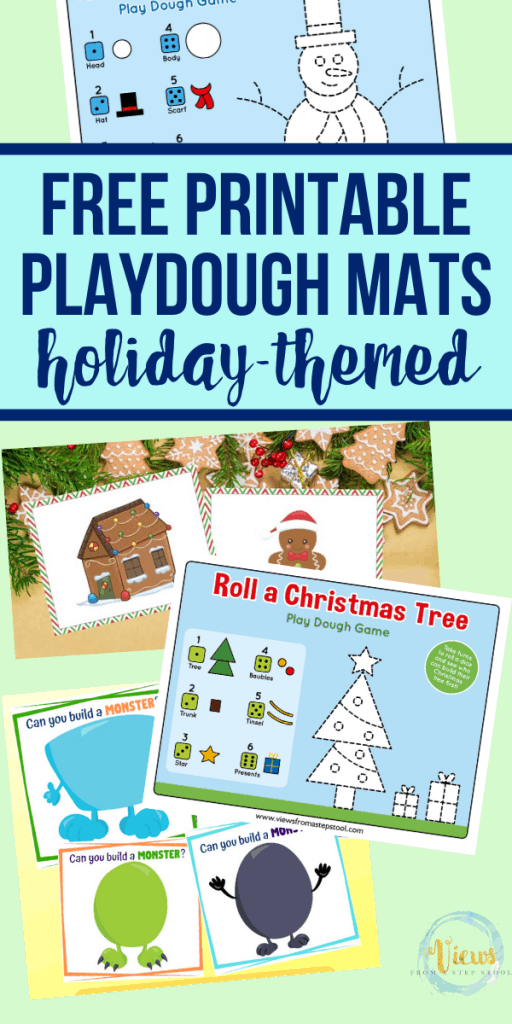Free Printable Playdough Mats For Kids Views From A Step Stool