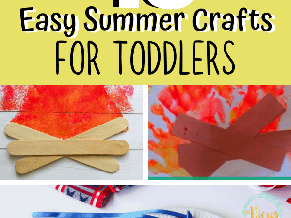 18 Easy Summer Crafts for Toddlers