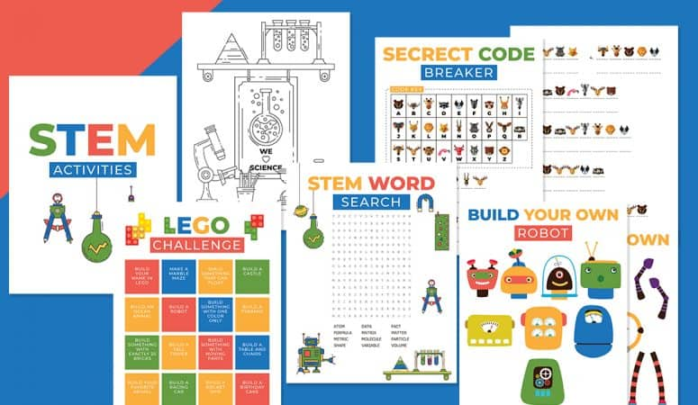 STEM Printable Activities