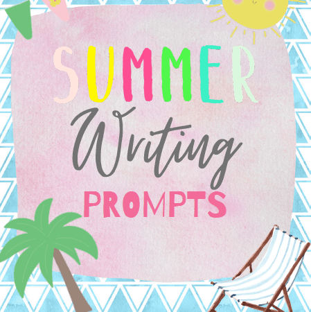 Summer Writing Prompts Printable Sheets for Kids