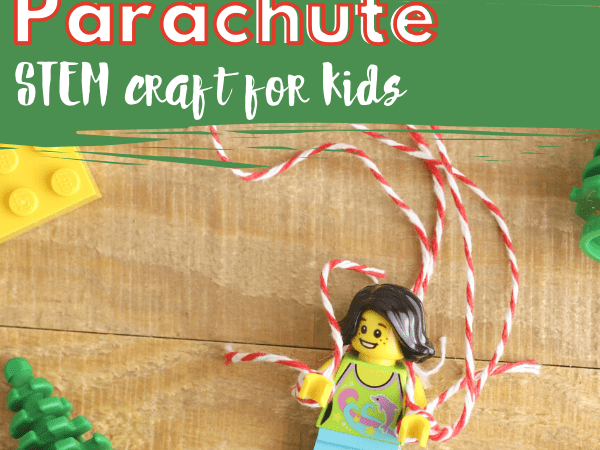 Lego Parachute Craft for Kids