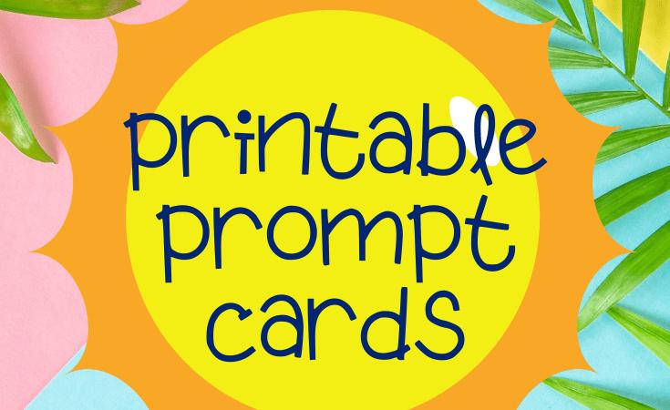 Summer Charades Printable Game