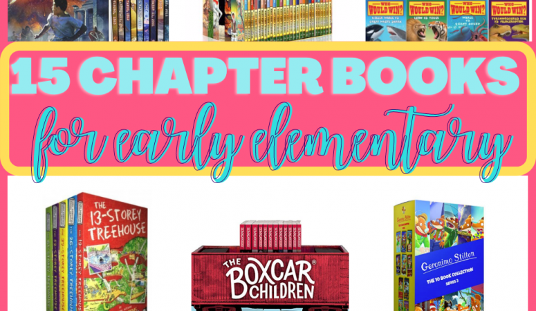 15 Fun Book Series for Early Elementary