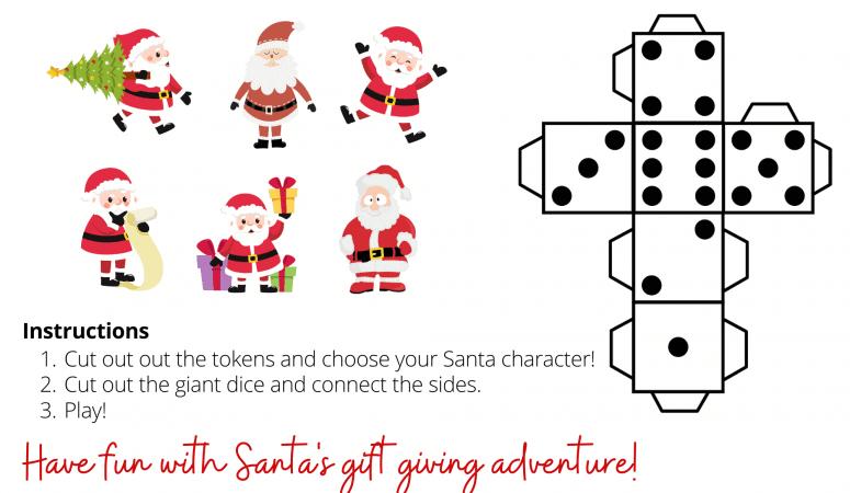 The Gift of Christmas Printable Board Game