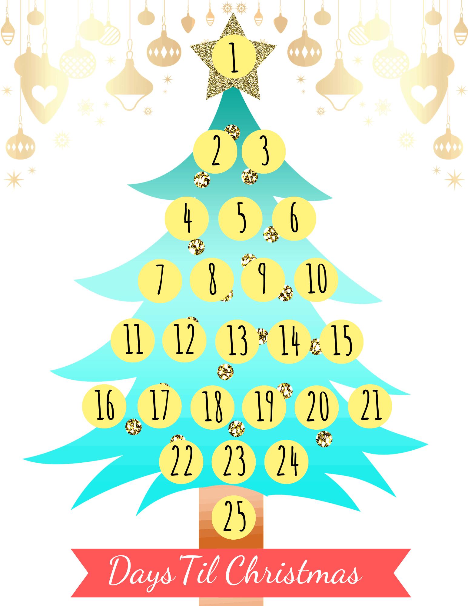Christmas Countdown Printable