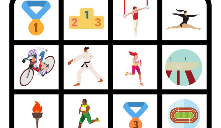 Summer Olympics Bingo Game Printable